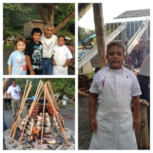 Salmon BBQ - Indigenous People's Day 2014