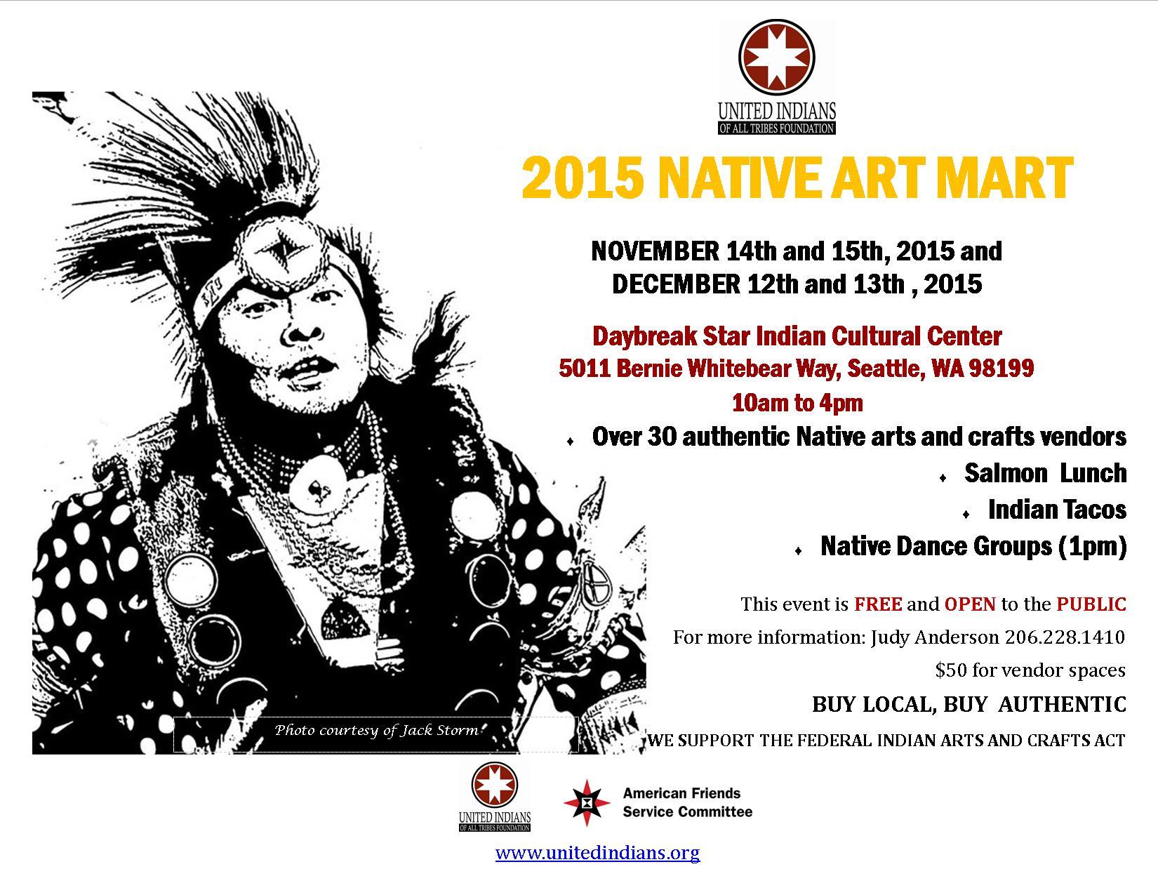 2015 Art Mart flier